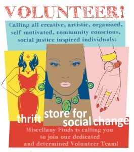 volunteer at Miscellany