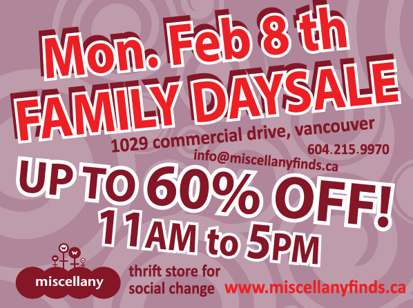 family day sale